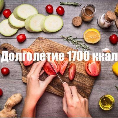 """Долголетие 1700 кКал от """"Performance food"""""""