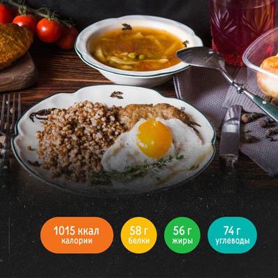 меню 1000 калорий право еды