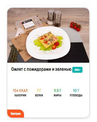 """Меню 1000 ккал от """"Право еды"""""""
