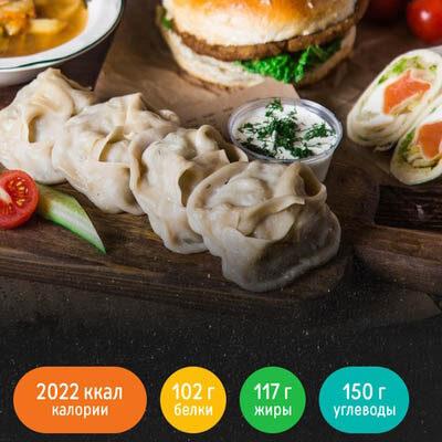 Меню 2000 ккал от «Право еды»