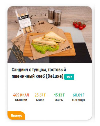"""Меню 2000 ккал от """"Право еды"""""""