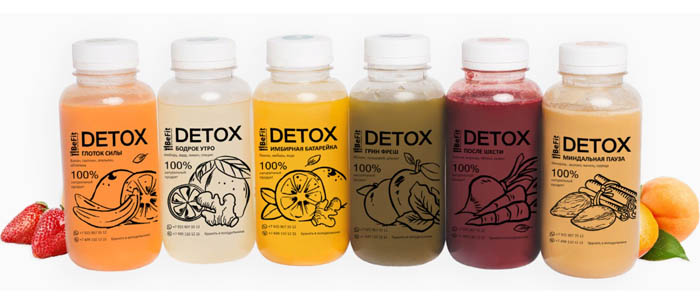 программа Detox от Befit меню
